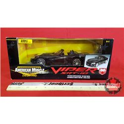 Diecast Toy : American Muscle Viper SRT - 10  Limited Edition (1:18 Scale)