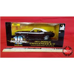 Diecast Toy : American Muscle 1971 Dodge Challenger R/T (1:18 Scale)