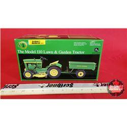 Diecast Toy : John Deere Model 110 Lawn & Garden Tractor - Precision Series #1 - 2002 (1:16 Scale)