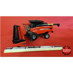 Diecast Toy : Case IH AFX8010 Combine First Production(1:32 Scale ?)