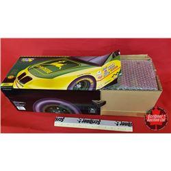 Diecast Toy : John Deere Nascar #23 Pontiac Grand Prix - Chad Little (1:18 Scale) Green & Yellow