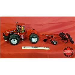 Diecast Toy : Case IH STX500 with Case IH Ecolo-Tiger 530B Tillage Disc/Cultivator  (1:16 Scale)