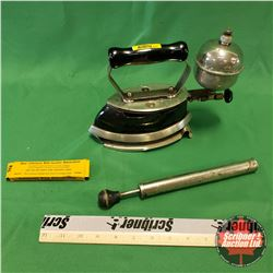 Coleman Model 4-A Iron with Pump & Generator