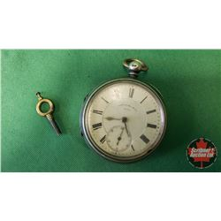 """Pocket Watch ~ Thomas Russell & Son """"Makers to the Queen"""" (S/N#101794) (With Winding Key) (Watch not"""