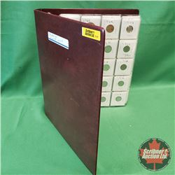 Binder Lot : Foreign Coin Collection - Large Variety (60 Coins)