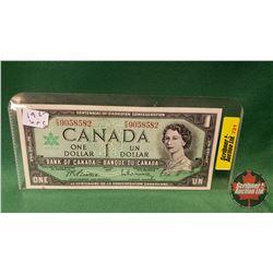 Canada One Dollar Bill 1967 Beattie/Rasminsky