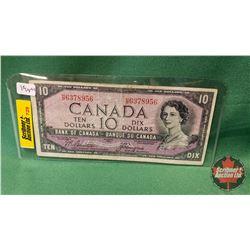 Canada Ten Dollar Bill 1954DF Beattie/Coyne