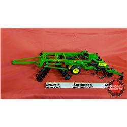 Diecast Toy : John Deere 2700 Tillage Disc/Cultivator (1:16 Scale)