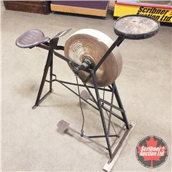 Grinding Wheel - Pedal Driven