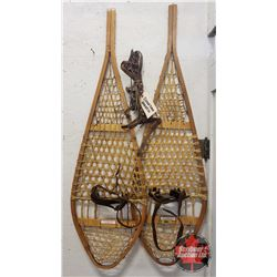 Torpedo Wood Snow Shoes & Extra Harness