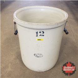 Medalta Potteries 12 Gallon Crock