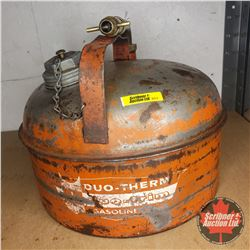 Duo-Therm Gasoline Can w/Brass Spout