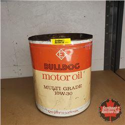 Eaton's Bulldog Motor Oil Tin