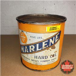 Marlene Hard Oil Tin (Partial Full)