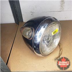 Antique Headlight w/Turn Signal