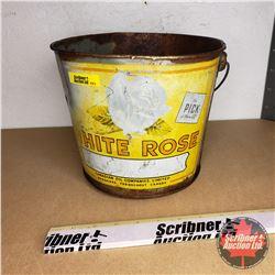 White Rose Grease Pail