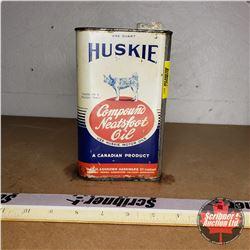 Huskie Compound Neatsfoot Oil Tin