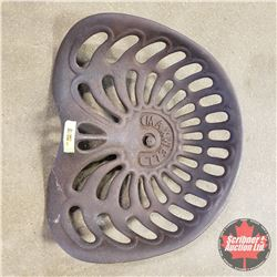 Cast Iron Maxwell Implement Seat