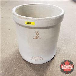 Medalta Potteries 3 Imperial Gallon Crock