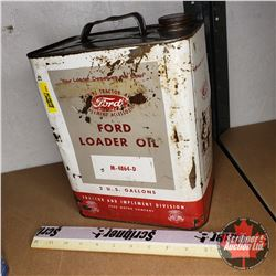 Ford Loader 2 US Gallon Oil Can