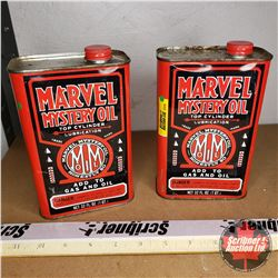 Marvel Mystery Oil Cans (2)