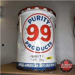 Purity 99 5 Gallon Oil Pail