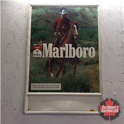 "Marlboro Advertising Sign (34""H x 23""W)"