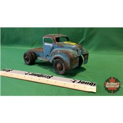 Lincoln Toys Blue Dually Truck