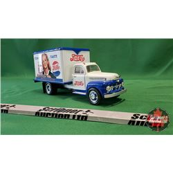 """Pepsi-Cola Toy Cube Truck """"Tempty… Tasty. More Bounce to the Ounce"""""""