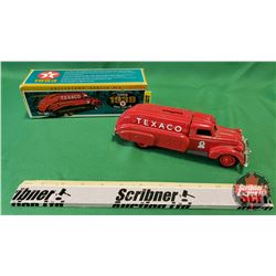 """Diecast Toy Bank: 1939 Texaco Dodge Airflow """"Tour with Texaco"""" (Collector Series #10)"""