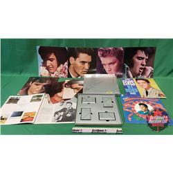 Elvis Music LP Albums Trio : G.I. Blues,  Elvis' Christmas & 25th Anniversary Limited Edition ...