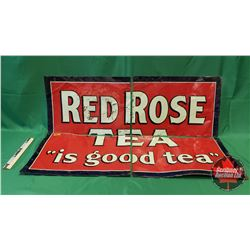"Red Rose Tea Sign (4 Pcs) (32""H x 46-1/2""L)"