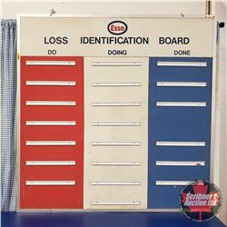 "Esso Loss Identification Board (45""H x 48""W)"