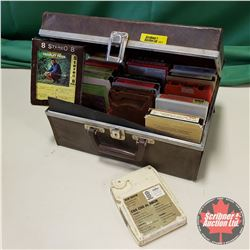 8 Track Collection in Carry Case