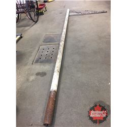 "Service Station Sign Pole (18'7""H x 6'W)"