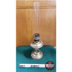 "Oil Lamp : Aladdin Model 11 Burner (Total Height 23"")"