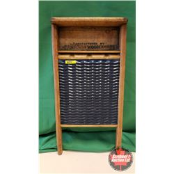 "Enamel Queen Washboard (24""H x 12""W)"