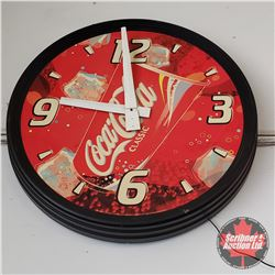 "2004 Coke Clock - Works (35"" dia)"
