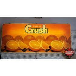 "Orange Crush Light Up Advertising Sign (23""H x 54""W x 5""D)"