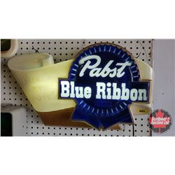 "Pabst Blue Ribbon Beer Light Up Advertising Sign (14""H x 24""W x 4""D)"