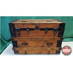 "Steamer Trunk (23""H x 33""W x 21""D)"