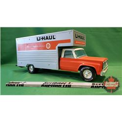 "Nylint Toy Truck ""Uhaul"" (Note: Damaged Front Bumper & Missing Back Door) (7-1/2""H x 19""L x 5""W)"