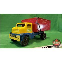 """Husky Metal Toy Dump Truck (6""""H x 12""""L x 6""""W)"""