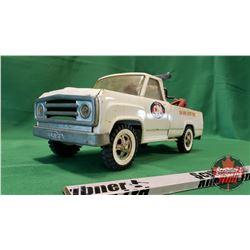 """Tonka Metal Toy Tow Truck """"CAA"""" (6""""H x 14""""L x 5""""W)"""