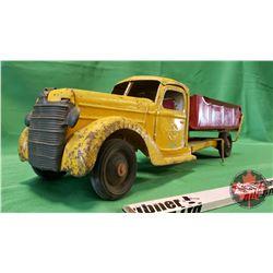 """Buddy L Metal Toy Dump Truck (6""""H x 21""""L x 6""""W)"""