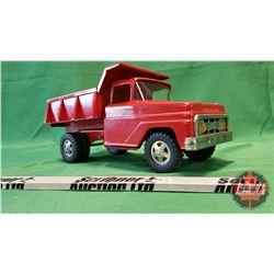 """Tonka Metal Toy Dump Truck (6""""H x 14""""L x 6""""W)"""