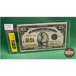 "Dominion of Canada ""Shinplaster"" : 1923 Campbell/Clark 654184"