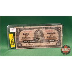 Canada Two Dollar Bill : 1937 Gordon/Towers T/B5881851