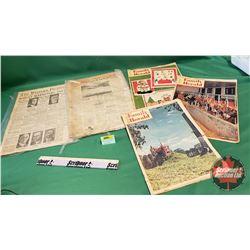 Family Herald & Newspaper Ephemera  (including Feb 23, 1939; 1940; 1960; 1961;1962)
