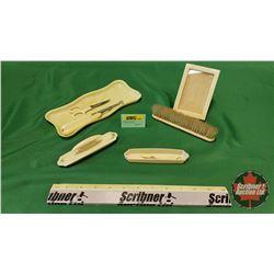 French Ivory Dresser Set (7pc)